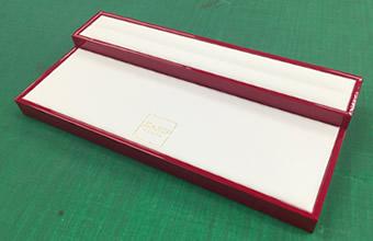木工+エンビシート+合皮 メガネ用スタンドトレイ